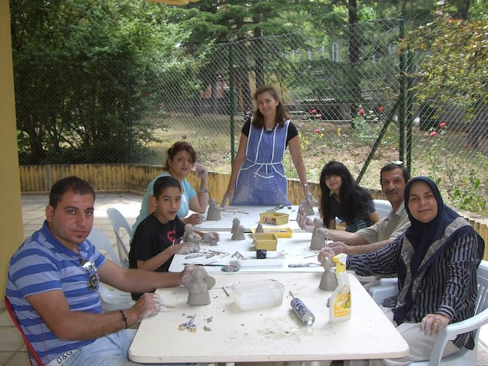 turquia 2011 refugee workshop